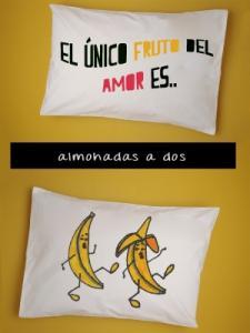 Almohada a dos Adulto Banana