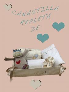 Canastillas Personalizadas bebé Manuel