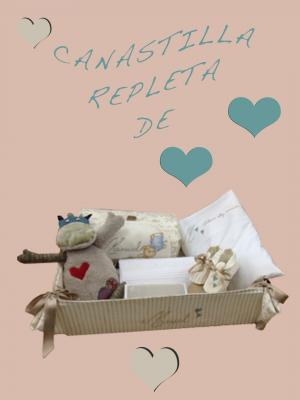 Canastillas Personalizadas bebé Manuel lenceria maternal Exclusiva