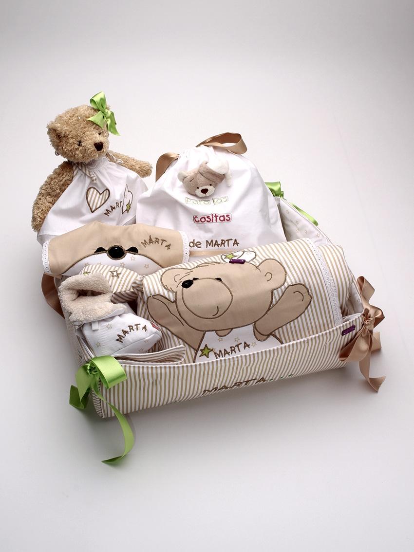 Canastillas Personalizadas bebé Marta lenceria maternal Exclusiva