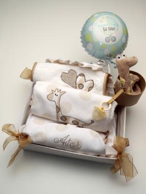 Canastillas Personalizadas bebé Aitor lenceria maternal Exclusiva
