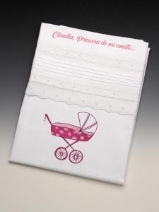 """Colección Sábana bebé  Carrito """"Mimitos"""""""