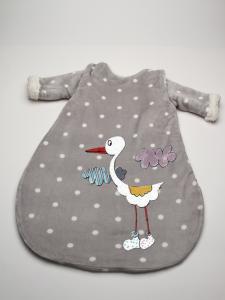 Saquito bebé personalizado Lunares