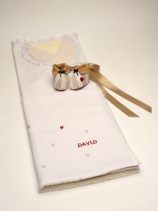 Arrullo personalizado corazones David