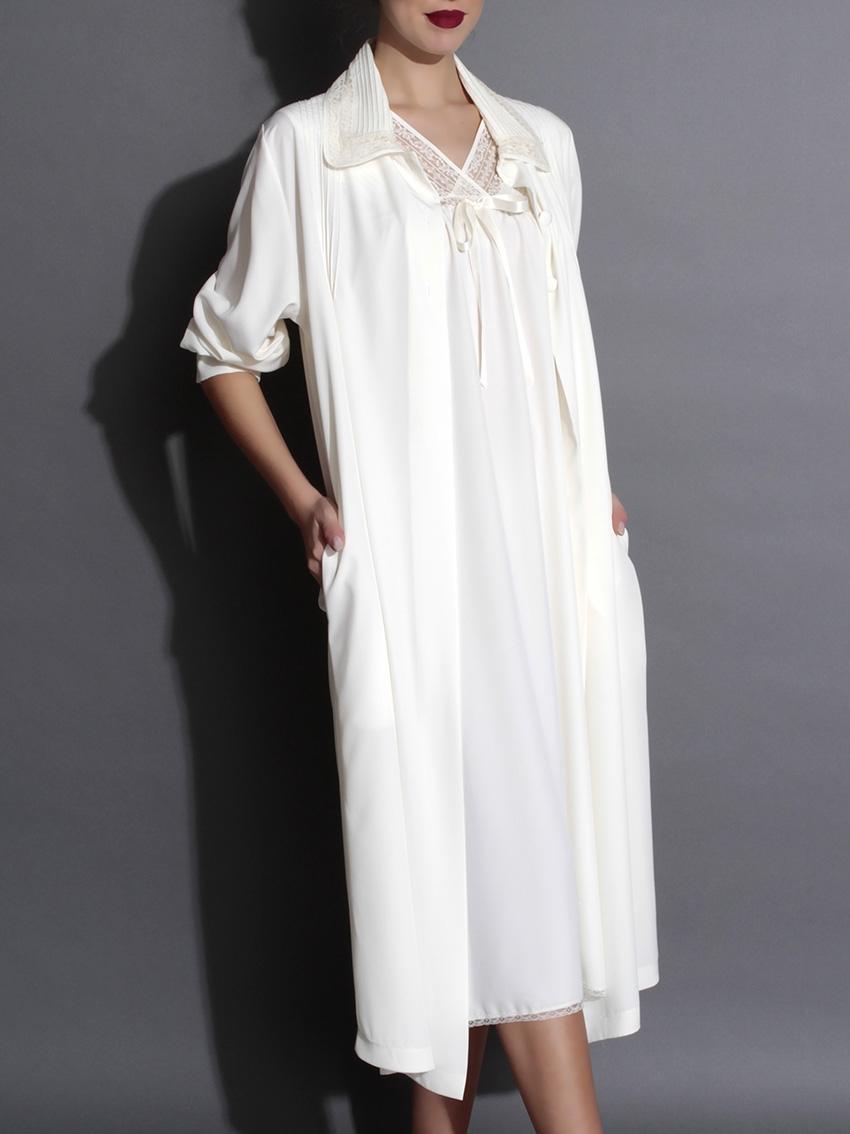 Elegante bata  mujer y camisón  microfibra