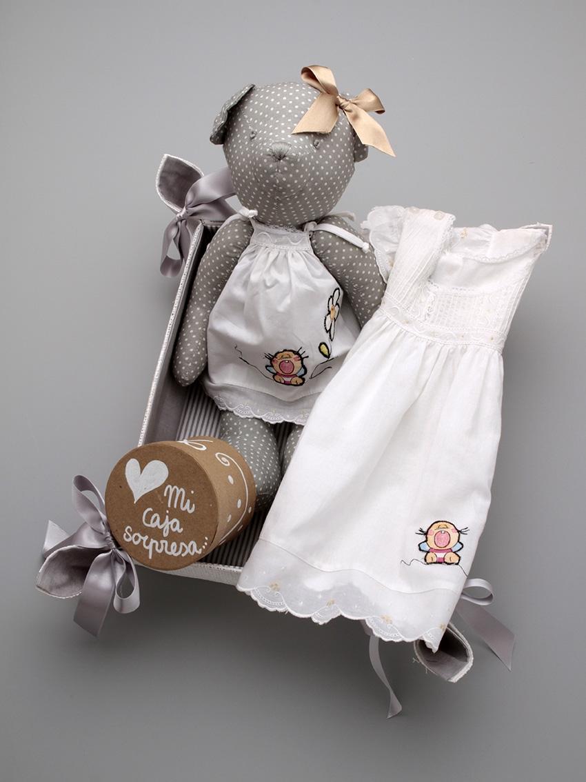 Canastillas Personalizadas bebé Osita